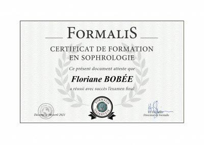 Certification Sophrologie